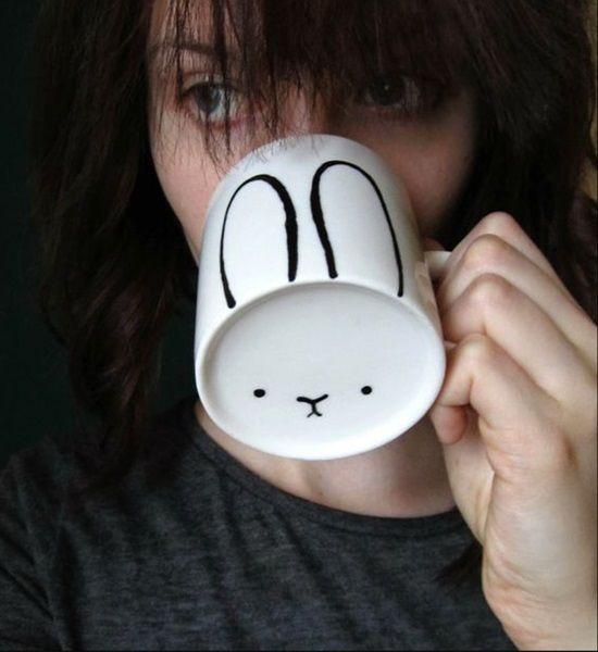 Bunny Ears Mug