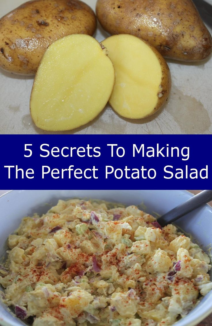 Hungee❣️ 5 Secrets To Making The Perfect Potato Salad – Amish Potato Salad Recipe Included