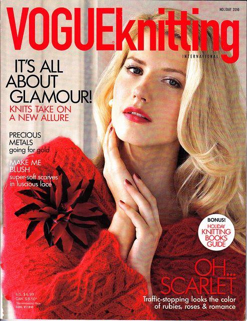 VOGUE #Knitting Holiday 2010