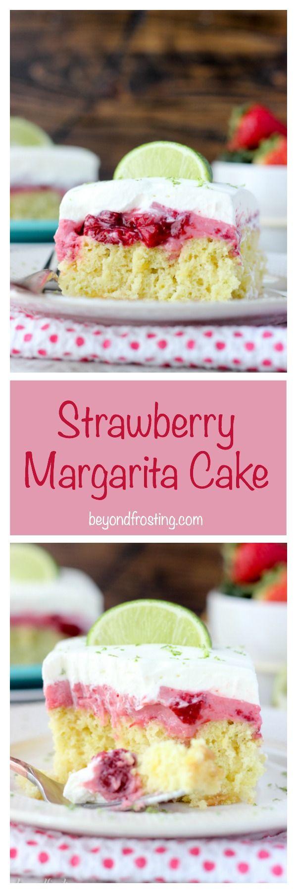 Margarita jello cake recipe
