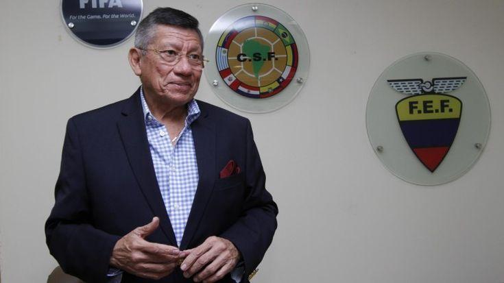 Directorio de la Federación Ecuatoriana de Fútbol (FEF), que es presidido por Carlos Villacís, concluirá