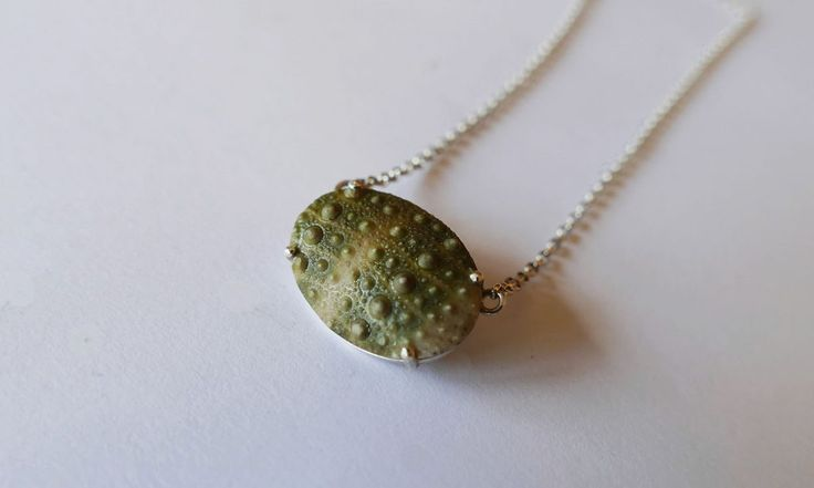 Sea urchin Pendant made from the cape sea urchin #jewellery #necklace #bling #birthdaygift #Handmade #design