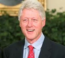BILL CLINTON: PRACTICING VEGAN & MEDITATOR      Former President Bill Clinton, who just celebrated his 66th birthday, is now reportedly embracing meditation for stress relief while on the road,