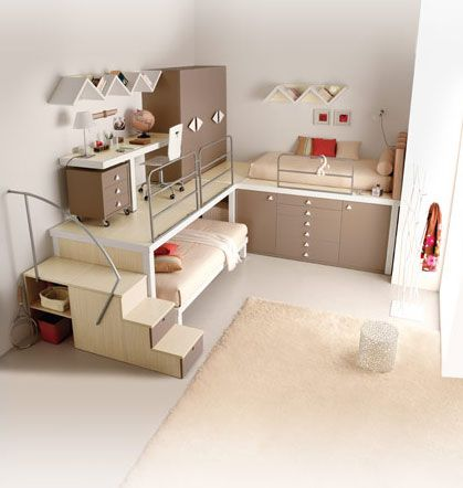Beds can easily be seen as the grown up interpretation of the bunk bed - Modern loft beds for adults