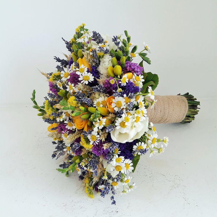 #wild_flowers_bouquet #bride_bouquet #Νυφικη_Ανθοδεσμη #λουλουδια_αγρου