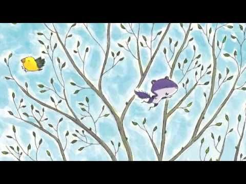 "56 second trailer for ""Fox and Squirrel Make a Friend"" (Fall 20114/Scholastic Canada)."