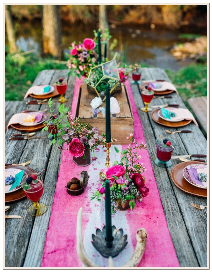 Friday Favorite: A Bohemian Gemstone Party