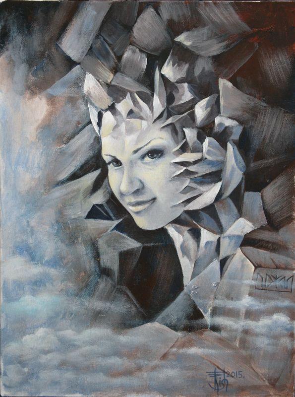 Картины МАГИЯ РУН.Trish: Зазеркалье