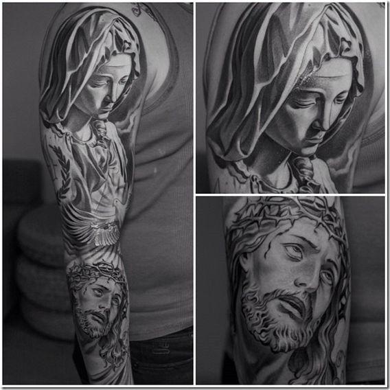 Tattoovorlagen Religion Motive Jesus Christus