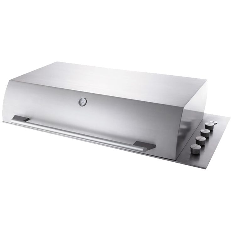 Electrolux Integrated Drop In BBQ with Hood Integrated 6 burner BBQ offers superior control and even heat distribution. Distinctive linear design Electrolux