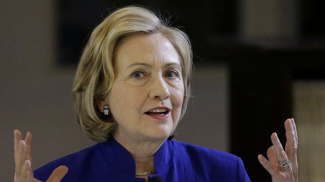 "MoveOn Warns Clinton After Knocking Obama On Foreign Policy... MoveOn Political Action, said that Clinton or ""any other person thinking about seeking the Democratic nomination in 2016, should think long and hard before embracing the same policies advocated by right-wing war hawks that got America into Iraq in the first place and helped set the stage for Iraq's troubles."""