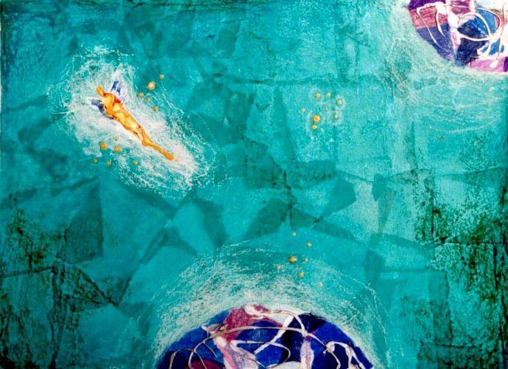 """""""Συμπαντικές αποχρώσεις"""" Ενότητα 29 έργών, 50x40cm, μικτή τεχνική σε καμβά. """"Universal shades"""" Section 29 paintings, 50x40cm, mixed media on canvas."""