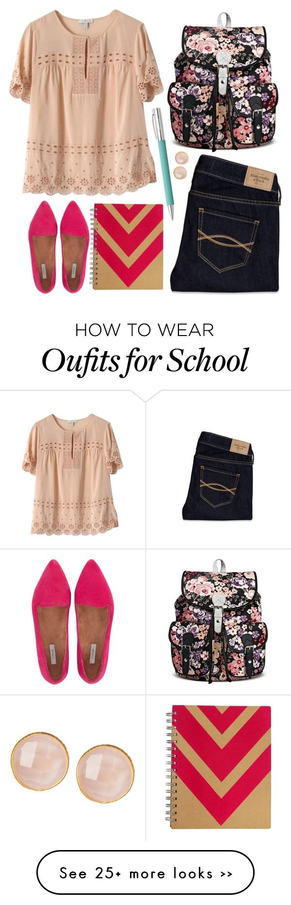 """Back 2 School"" by prettyorchid22 on Polyvore"