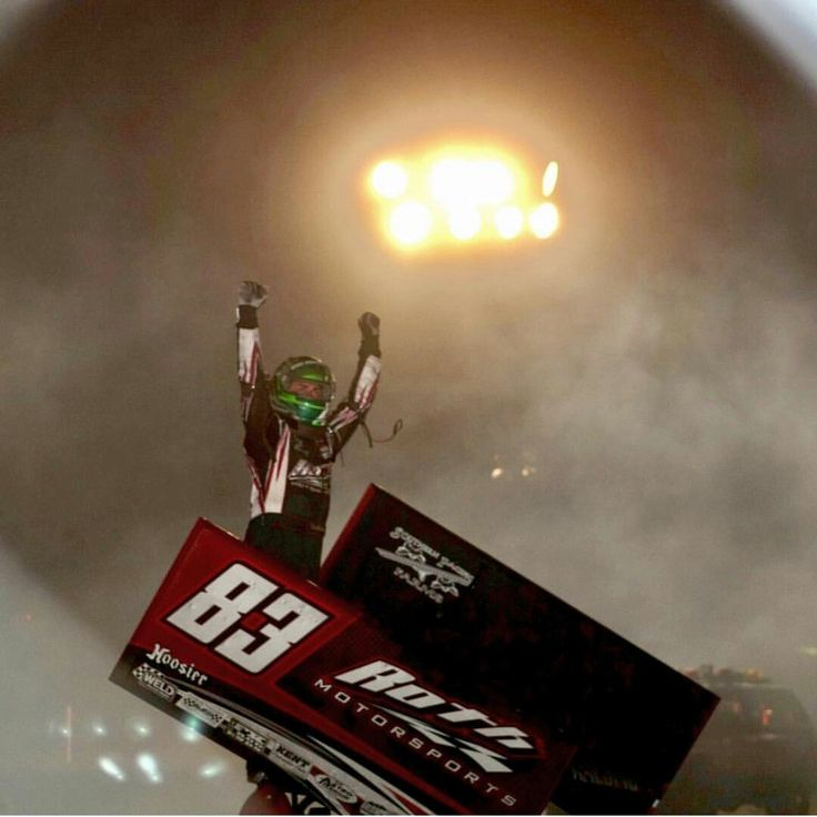 Tim Kaeding wins at Stockton Dirt Track