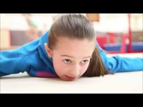 Young amazing GB gymnast