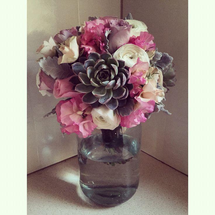 Pretty in pastels bouquet