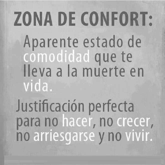 Zona de confort.