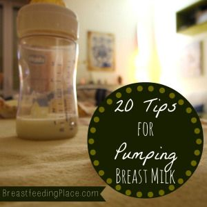 These are awesome! Now I know how to pump breast milk for baby!