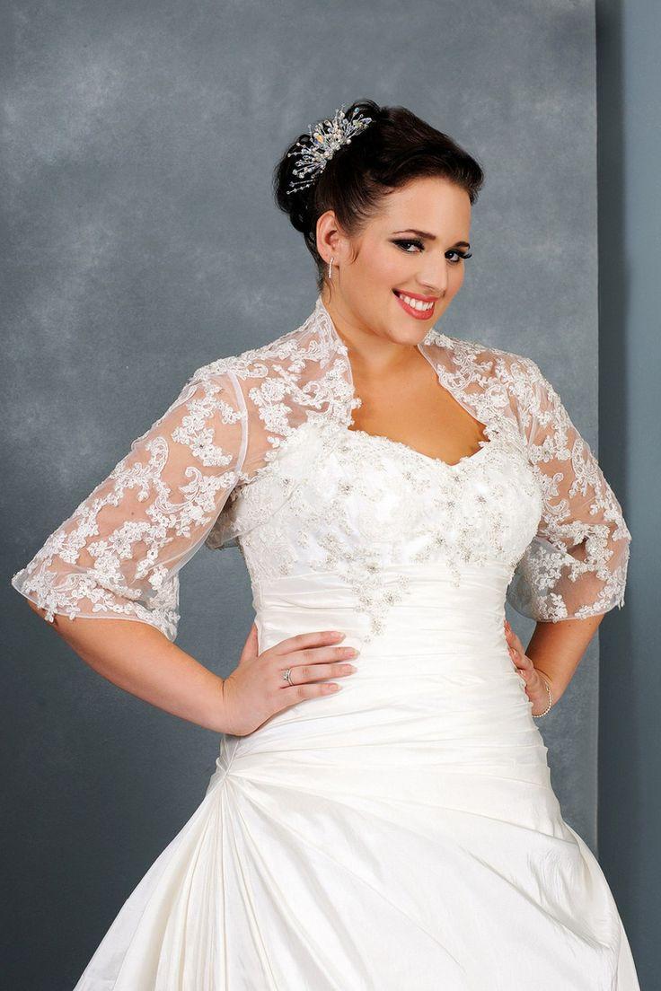 23 best plus size wedding dress images on pinterest | plus size