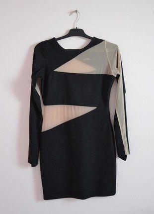 Kup mój przedmiot na #vintedpl http://www.vinted.pl/damska-odziez/krotkie-sukienki/16462810-sukienka-z-wycieciami-i-siateczka
