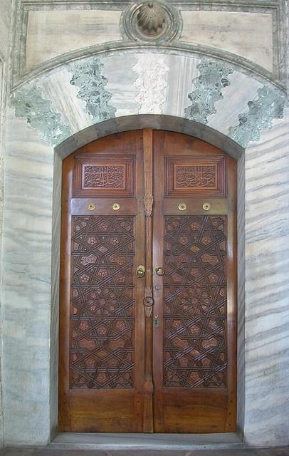 Door,Topkapi Palace, Istanbul, Turkey