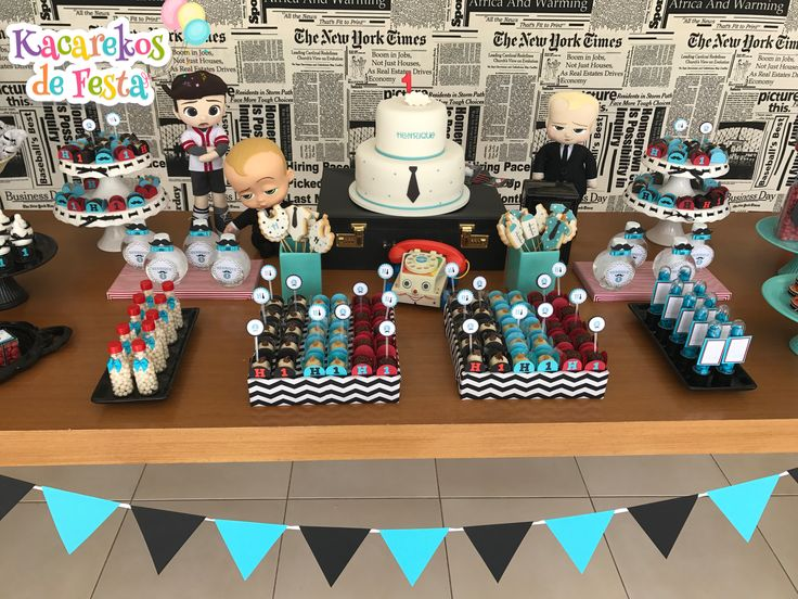 88 best Boss Baby Party images on Pinterest | Boss baby, Baby party and Birthday party ideas