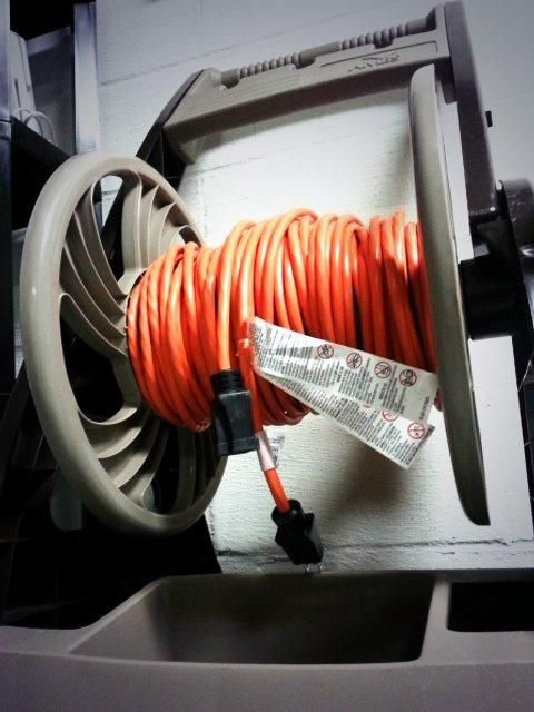 17 Best Images About Extension Cord Storage On Pinterest
