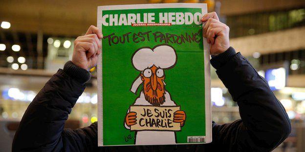 Charlie-Hebdo-Cover: Wenn Gymnasiasten Proleten tadeln