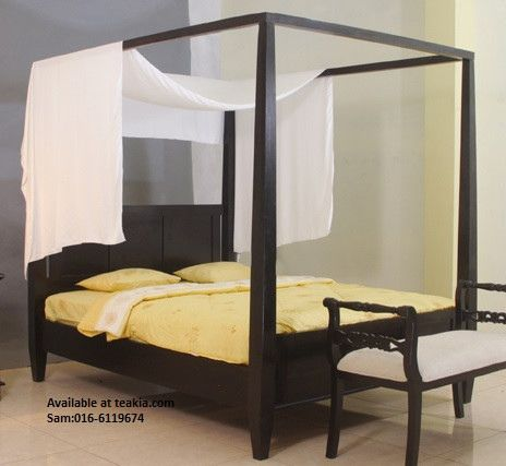 https://flic.kr/p/LG85xW   4 poster Contemparary Bed