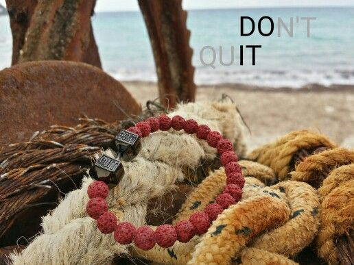 #motivation #inspiration #dontquit #nevergiveup #handmade #bracelet
