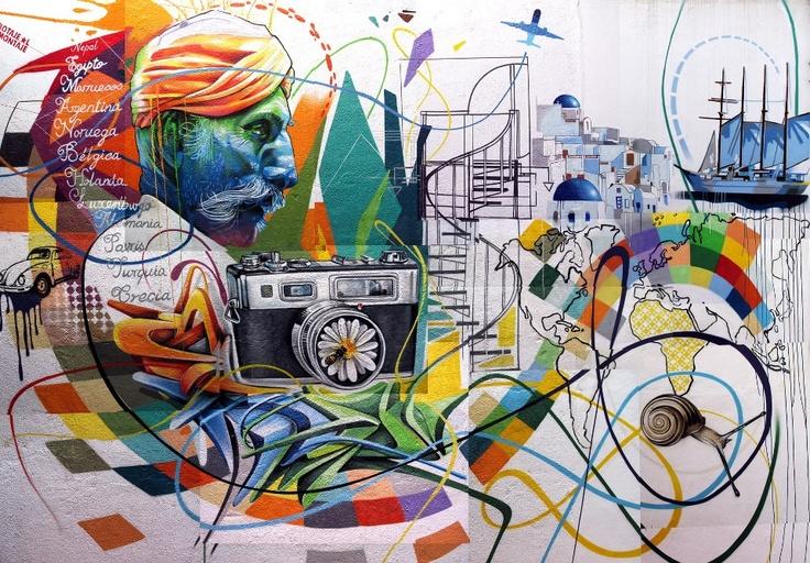 • ARTIST . SABOTAJE AL MONTAJE •    ◦ Untitled ◦  location: La Laguna, Tenerife  via Street Art Save My Life