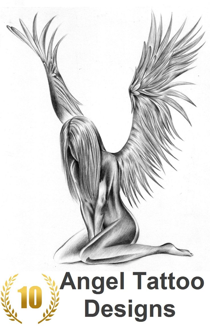 For designs women tattoo angel