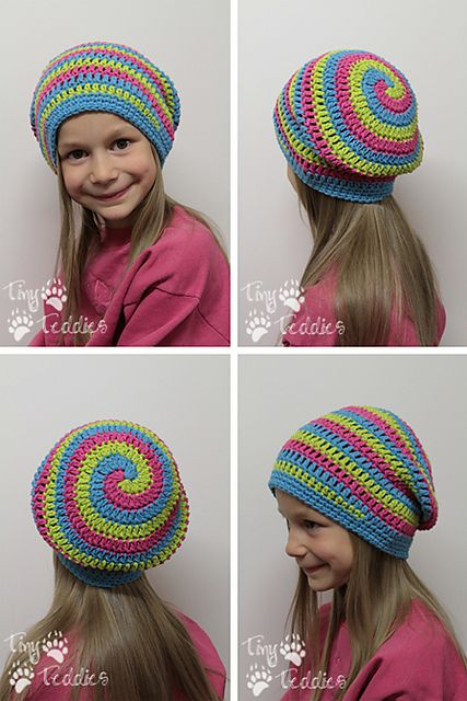 Helix Hat by Danyel Pink (CrazySocks Crochet): Helix Hats, Mess Up, Pink Patterns, Crochet Spirals Hats Patterns, Pink Crazysock, Danyel Pink, Crochet Hats, Crazysock Crochet, Crochet Patterns