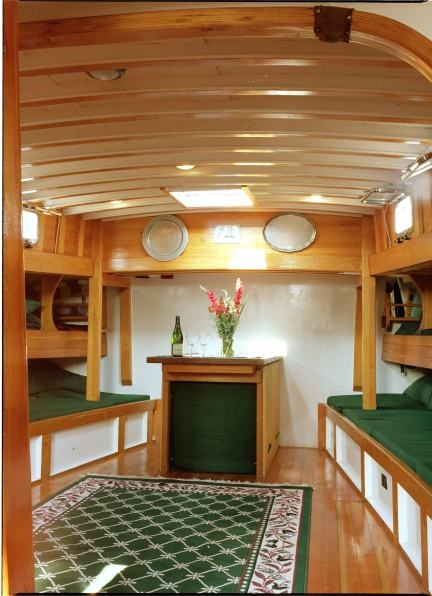 Just as appealing as her exterior, here is Schooner Adirondack's interior quarters.