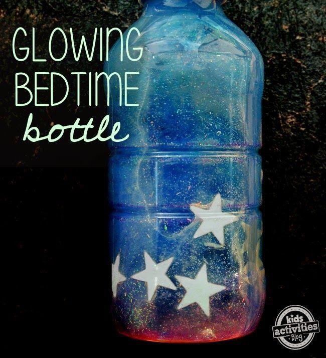 HANDY DIY: Glowing Sensory Bottle for Bedtime