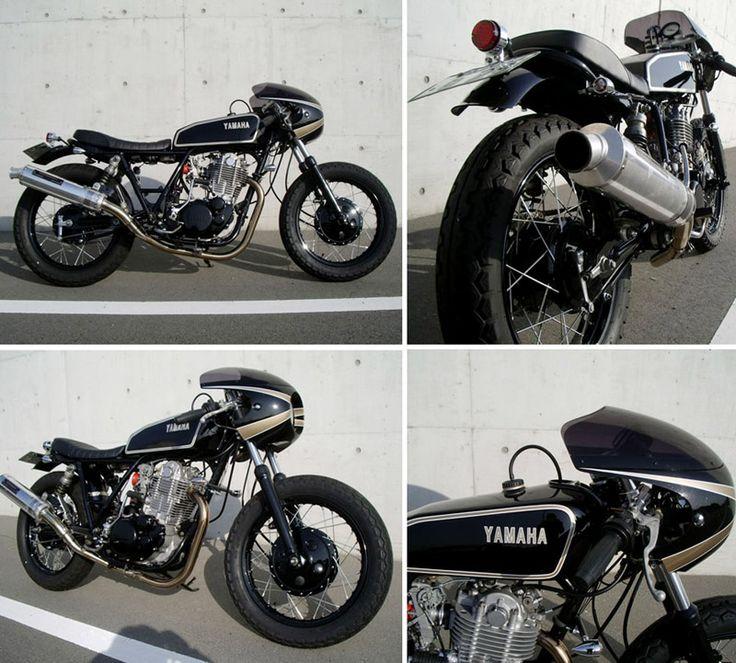 82 best images about sr400 sr500 on pinterest scrambler for Garage yamaha scooter