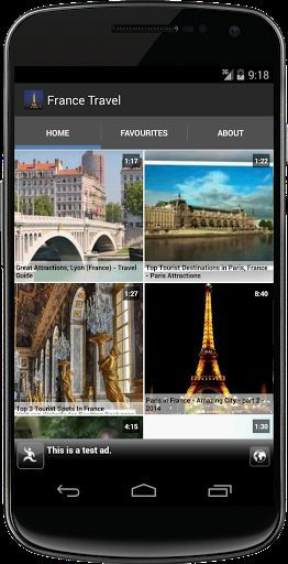 France Travel attractions and top destinations. Videos from YouTube showing tourist attractions of France. This app will help you find many France destinations as part of your Europe tours. This is must app for all people who are planning to travel to France to understand about the place through awesome videos. So you can consider this app as a France travel guide free though it is just travel videos about France.<p>France it the most popular tourist destination in the world. France has got…