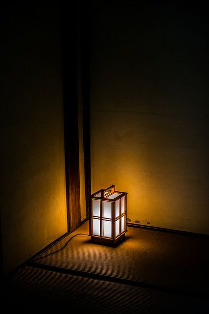 Japanese lantern / 灯 by jimy40_2008, via Flickr