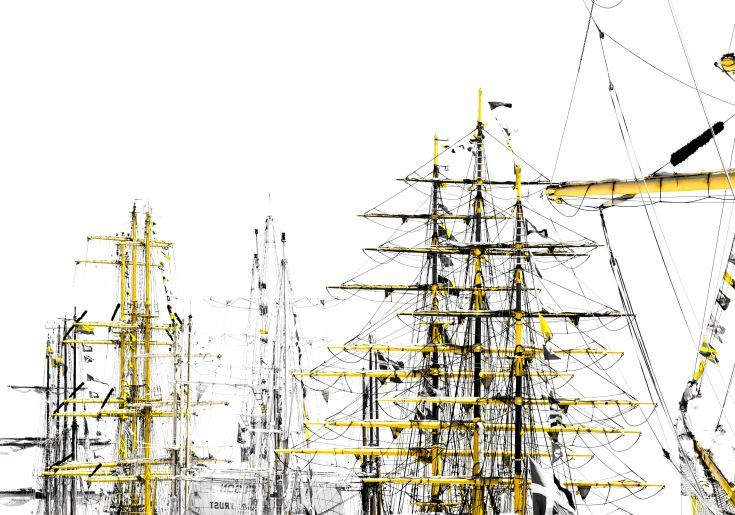 ARTFINDER: Tall Ships by Victor de Melo - Abstract Graphics Photography. Lisbon hosted the Tall Ships Race event, organized by the Sailing Training International, gathered the most important 60 tall...