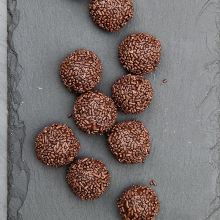 Brigadeiro | Think of these handheld Brazilian sweets as chocolate truffles by way of the beach. They are a cinch to make and can be rolled in anything from chocolate sprinkles to shredded coconut to cocoa powder.