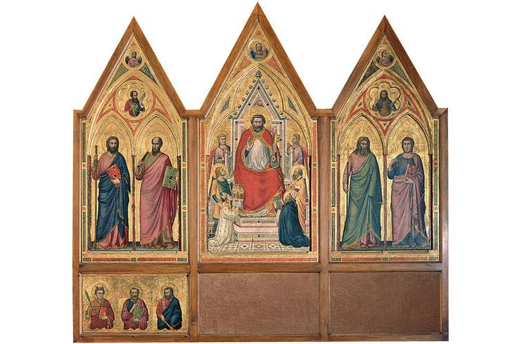 Part of the Stefaneschi Polyptych.