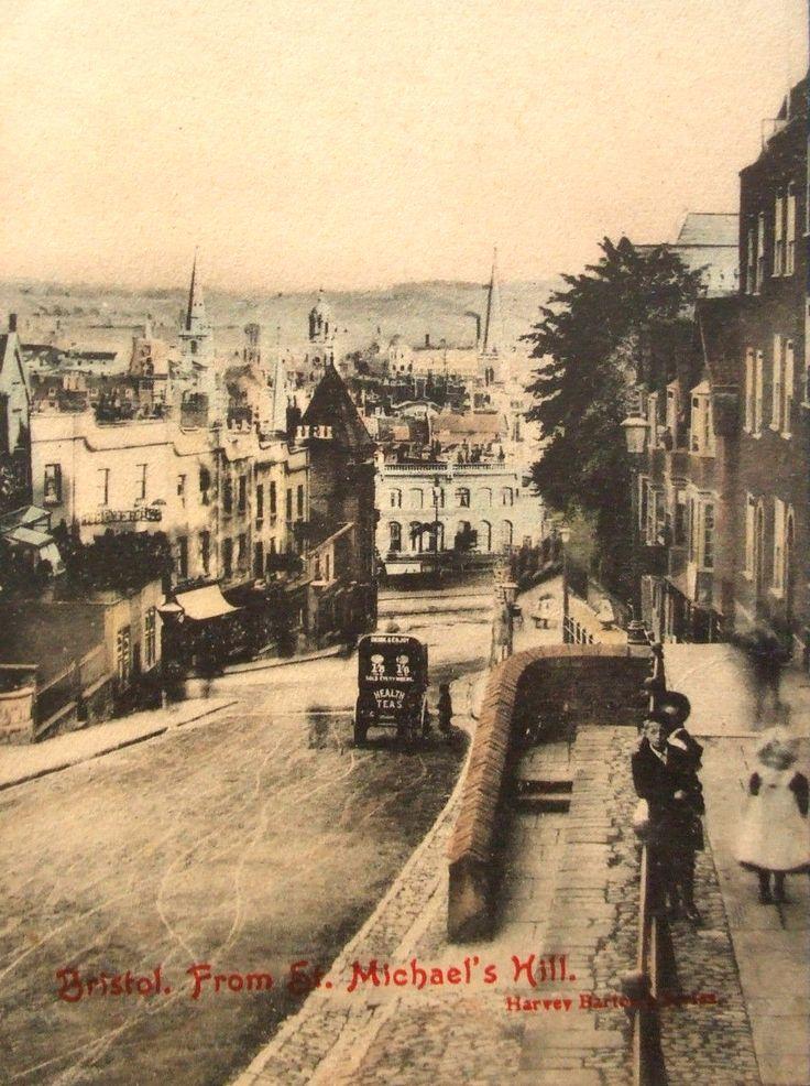 St Michaels Hill Bristol 1905.