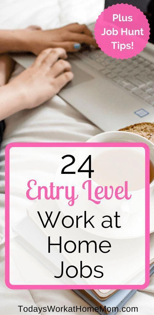 24 Entry Level Work from Home Jobs