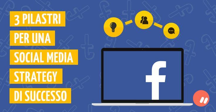 Facebook: 3 pilastri per la tua Social Media Strategy oggi