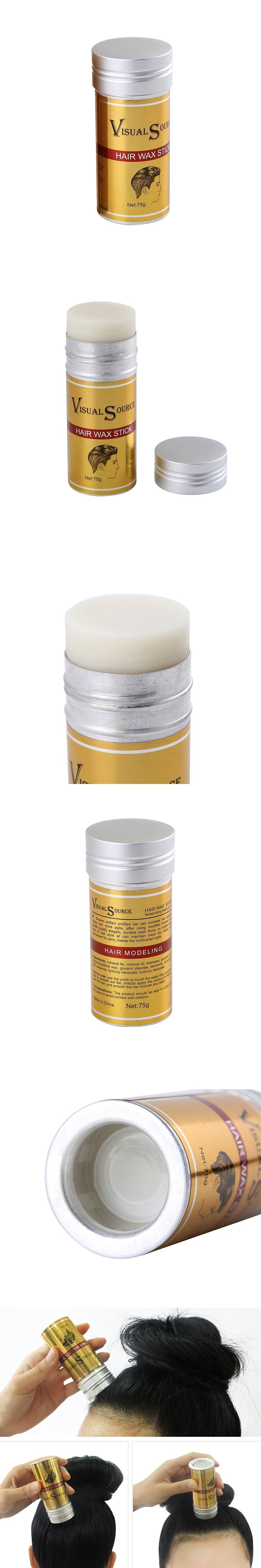 Hair Styling Pomade Stick Rapid Fixing Short Broken Hair Wax Rod Finishing Cream
