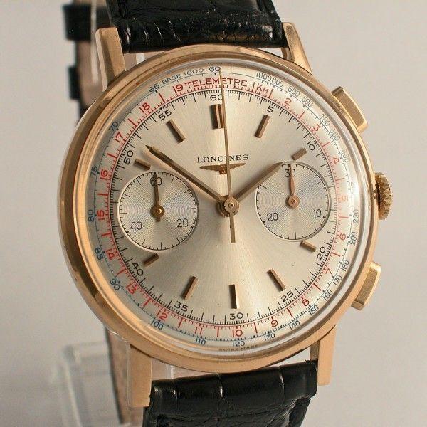 Longines Flyback chronograaf - Amsterdam Vintage Watches