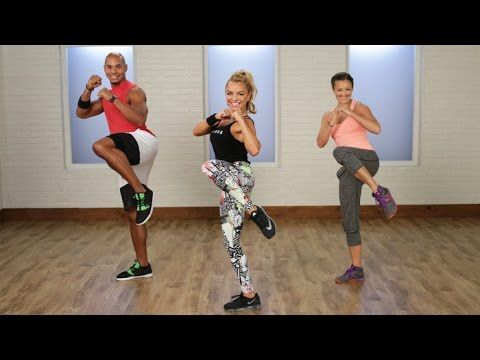 60-Minute Calorie-Torching Cardio-Boxing Workout | Class FitSugar - YouTube