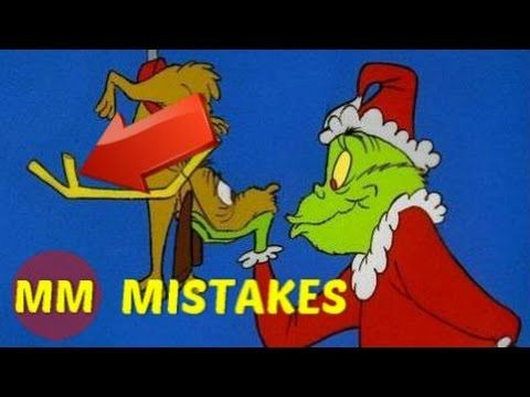 Dr Seuss How The Grinch Stole Christmas Movie Mistakes You Missed Youtube Funny Christmas Movies Funny Christmas Cards Grinch