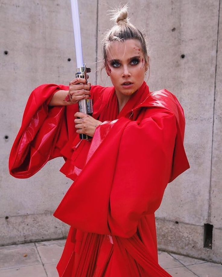 """Valentine Valu Zenere in support of the film """"Star wars: the Last Jedi"""", #celebrity #famous #star #actress #StarwarstheLastJedi #women #cool #great #perfect #style #fashion #beautiful #lovely #nice #pretty #cute #hot #wow #love #favorite #ideal #film #photoshoot #ValentineZenere"""