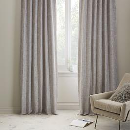 Belgian Flax Linen Curtain - Natural